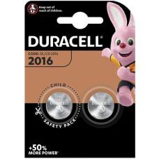 Duracell Lithium DL2016/CR2016 Baterijas (2gb.)