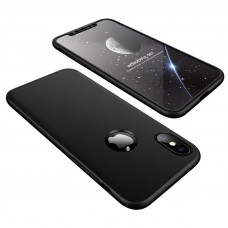 GKK 360 Protection aizmugures māciņš priekš iPhone X/XS (melns)