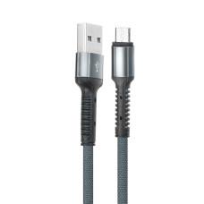LDNIO LS63 Ultra Fast USB kabelis uz Micro USB (melns)