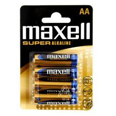 Maxell Super Alkaline AA/LR06 MN1500 Baterijas (4gb.)