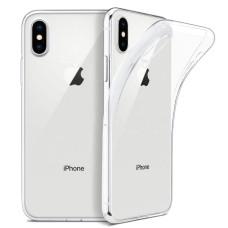 Ultra Slim silikona aizmugures māciņš priekš iPhone 6/6S (caurspīdīgs)